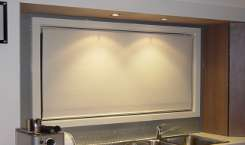 blackout blockout holland roller blind