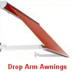 drop arm retractable awnings melbourne