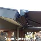 full cassette folding arm awning