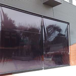 tinted pvc cafe blinds melbourne
